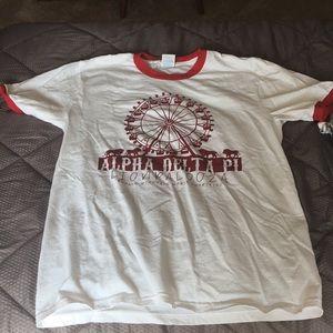 Alpha Delta Pi Lion Charity Shirt